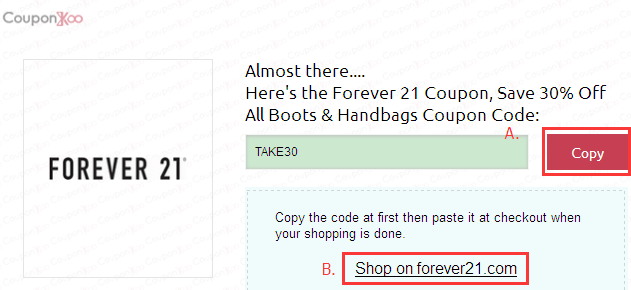 photograph regarding Forever 21 Printable Coupons known as Endlessly 21 coupon code canada / Khaugalideals hyderabad