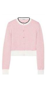Miu Miu open-front blouse