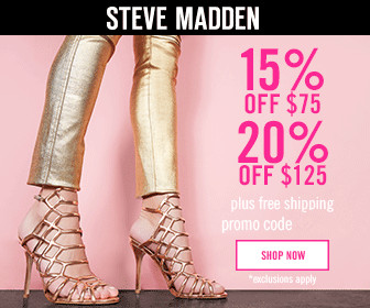 Steve madden coupons 2019