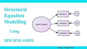 95% Off IBM SPSS AMOS Foundation Course: SEM Scratch to